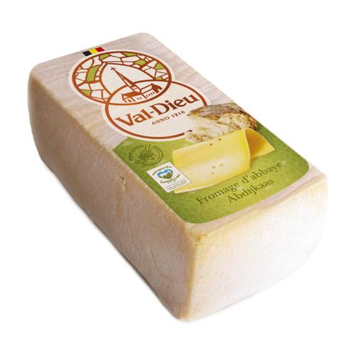 Val-Dieu fromage d'Abbaye à croûte naturelle